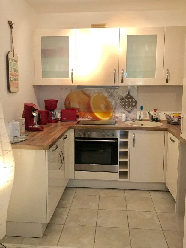 Küchenbereich Ostsee-Perle Scharbeutz