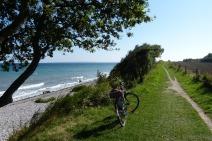 Mit dem Rad die Küste entlang